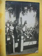 L6 2003 RARE CARTE PHOTO. 40 MONT DE MARSAN. CALVACADE DE 1903. CHAR LA REPUBLIQUE - H. MARQUET PHOT. MONT DE MARSAN - Mont De Marsan