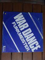 Funkmeister – War Dance (Invasion Mix) - 1984 - Electronic - 45 Rpm - Maxi-Single