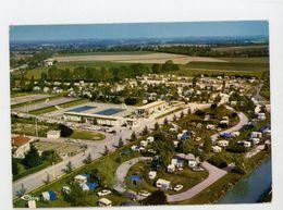 CPM: 01- VILLARS-LES-DOMBES - ENSEMBLE CAMPING - PISCINE - - Villars-les-Dombes