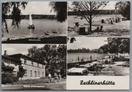 Rheinsberg Zechlinerhütte - S/w Mehrbildkarte 2 - Rheinsberg