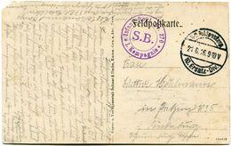 FRANCE / ALLEMAGNE CARTE DE FRANCHISE MILITAIRE -PRIESTERWALD AVEC CACHET K. D. FELDPOSTEXP 21-6-16 10.ERSATZ-DIV. +.... - WW1
