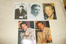 LOT DE 5 CARTES ....MICKEY ROURKE - 5 - 99 Postcards