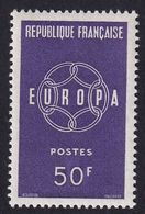 FRANCE 1959 - YT N°1219 - 50 F. Violet - Europa - Neuf** - TTB Etat - Unused Stamps