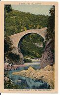 Cpa 34 Lamalou Pont De Diable - Lamalou Les Bains