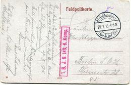 FRANCE / ALLEMAGNE CARTE DE FRANCHISE MILITAIRE -STE MARIE-A-PY AVEC CACHET K. D. FELDPOSTEXP 29-2-16 Der 4 Inf. Div. - WW1