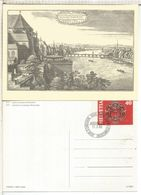SUIZA ENTERO POSTAL 1983 TEMBAL ARQUITECTURA PUENTE BRIDGE - Ponti