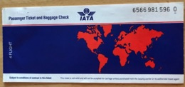 BRITISH AIRWAYS TICKET 31JAN98 VENICE LONDON VENICE - Tickets