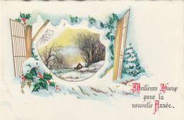 Mignonnette 3 Volets - Meilleurs Voeux Pour La Nouvelle Année - Nouvel An