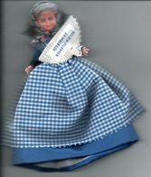 Grimbergen Filomeen Reuzin Géant Riese Giant  Pop Poupée Doll Puppe C.a 16 Cm Folklore Folklorique - Andere