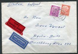 "Germany 1960 Luftpost/Express Bedarfsbrief/Cover Mit Mi.Nr.264 MiF Mit Tstp.""Mülheim A.d.Ruhr"" Nach Berlin""1Beleg - BRD"