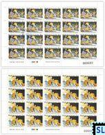 Sri Lanka Stamps 2020, Esala Perahera, Buddha, Buddhism, Elephant, Elephants, Rs. 45/- And Rs. 15/- ONLY, Sheetlets - Sri Lanka (Ceylon) (1948-...)
