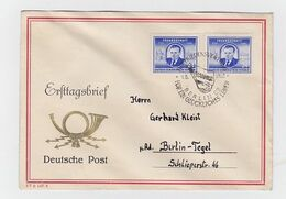 Lettre Premier Jour DDR - [6] Repubblica Democratica