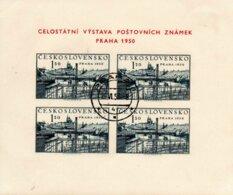 TCHECOSLOVAQUIE 1950 O - Blocks & Sheetlets