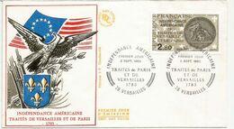 FRANCE. Independance Américaine. Traité De Versailles 1783.  FDC - Us Independence