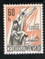 CECOSLOVACCHIA (CZECHOSLOVAKIA) -  SG 1627   - 1967  PEACE FOR VIETNAM    -  MINT** - Czechoslovakia