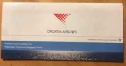 CROATIA AIRLINES TICKET 04MAR09 ZAGREB SPLIT - Tickets