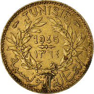 Monnaie, Tunisie, Muhammad Al-Amin Bey, 50 Centimes, 1945, Paris, TTB - Tunisia