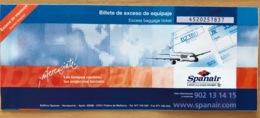 SPANAIR EXCESS BAGGAGE BIKE TICKET 11MAY07 VALENCIA MUNICH - Tickets