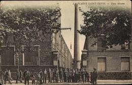 Cp Livry Gargan Seine Saint Denis, Usine Mouton - France