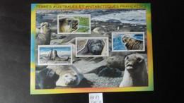 TERRES AUSTRALES ET ANTARTIQUES (TAAF)   -BLOC FEUILLET N°19    (N°508/511) - Blocks & Sheetlets