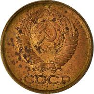 Monnaie, Russie, Kopek, 1987, TTB, Laiton, KM:126a - Russie