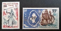 Wallis & Futuna, 1971, Full Set, MVLH - Wallis And Futuna
