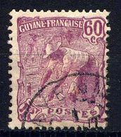 GUYANE - N° 84° -  LAVEUR D'OR - Guyane Française (1886-1949)