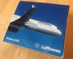 AIRBUS A321 LUFTHANSA MODEL 1:600 SCHABAK 956/1 Made In Germany - Commercial Aviation