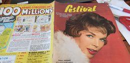 FESTIVAL 1958 /DAWN ADDAMS /TILDA THAMAR/LOUIS DE FUNES - Cinema