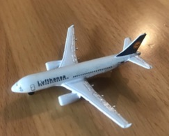 AIRBUS A319 LUFTHANSA MODEL 1:600 SCHABAK 957/1 Made In Germany - Commercial Aviation