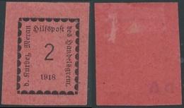 1918 MERANO 2 H MH * - RB47 - Merano