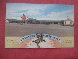 Frontier Auto Court  Wyoming > Cheyenne  Ref 4262 - Cheyenne