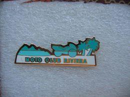 Pin's Du Moto Club RIVIERA - Motorräder