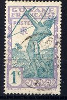 GUYANE - N° 109° -  INDIGÈNE TIRANT A L'ARC - Guyane Française (1886-1949)