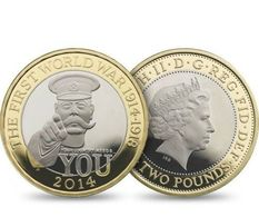UK 2 Pound Coin 2014. Reproduction. - Coins