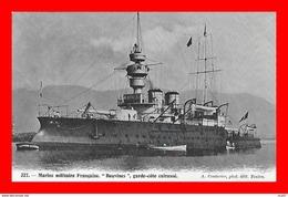 """CPA BATEAUX. Marine Militaire.  Cuirassé Garde-côte """"BOUVINES""""...S2137 - Krieg"""