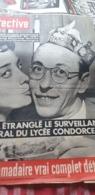 DETECTIVE /PARIS LYCEE CONDORCET SURVEILLANT GENERAL ETRANGLE  MARIE JOSE NEUVILLE - Cinema