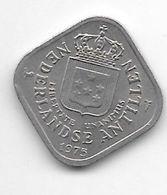 *netherlands Antilles 5 Cent  1975  Km 13  Unc/ms63 - Antillen (Niederländische)