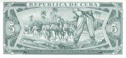 REPUBLIC OF C. P. 103d 5 P 1988 UNC - Cuba