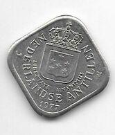 *netherlands Antilles 5 Cent  1977  Km 13  Xf+/ms60 - Antillen (Niederländische)