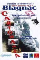 BLAGNAC - CARTOMANIA  2012 - Collector Fairs & Bourses