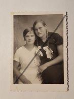 Photo Vintage. Original. Filles Lesbiennes. Lettonie. - Erotic & Fine Nudes (...-1960)