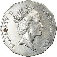Monnaie, Australie, Elizabeth II, 50 Cents, 1995, TTB, Copper-nickel, KM:294 - Monnaie Décimale (1966-...)