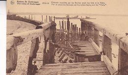 BELGIQUE. RUINES DE ZEEBRUGGE. CPA NON CIRCULEE -LILHU - Zeebrugge