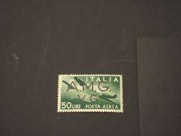 TRIESTE - VENEZIA GIULIA A.M.G.-V.G - P-A- 1946 AEREO L. 50 - NUOVO(++) - 7. Triest