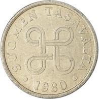Monnaie, Finlande, 5 Pennia, 1980, TTB, Aluminium, KM:45a - Finlandia