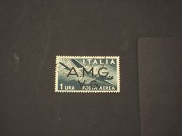 TRIESTE - VENEZIA GIULIA A.M.G.-V.G -  P.A. 1946 AEREO L. 1 - TIMBRATO/USED - 7. Triest