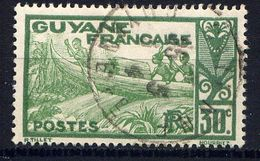 GUYANE - N° 117° -  PIROGUE SUR LE MARONI - Guyane Française (1886-1949)