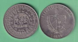 2001-MN-214 CUBA 1$ 2001 RELIQUIAS DE LA NAVEGACION. ROSA DE LOS VIENTOS. CUPRO-NI. UNC. - Cuba