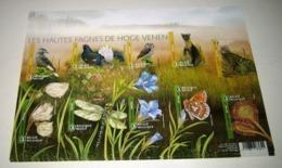 De Hoge Venen / Les Hautes Fagnes** Natuurreservaat 4727/36 Imperforated Sheet-Ongetand-ND - Belgien